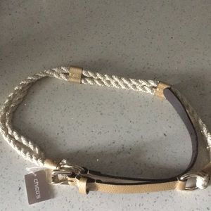 Chico's Siena Rope Belt